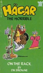 Ace Tempo Books's Hagar the Horrible: On the Rack Soft Cover # 1