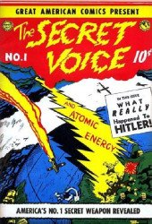 Four Star Publications's Great American Comics Presents: Secret Voice Issue # 1