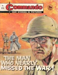 D.C. Thomson & Co.'s Commando: War Stories in Pictures Issue # 876