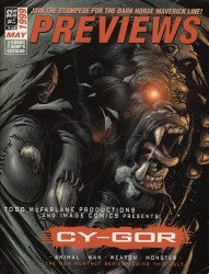 Diamond Comics Distribution's Previews Issue # 128