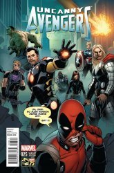 Marvel's Uncanny Avengers Issue # 25b