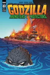 IDW Publishing's Godzilla: Monsters & Protectors Issue # 2
