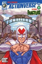 Action Lab Entertainment's Actionverse Issue # 3