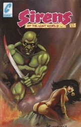 Comax's Sirens of the Lost World Issue # 1