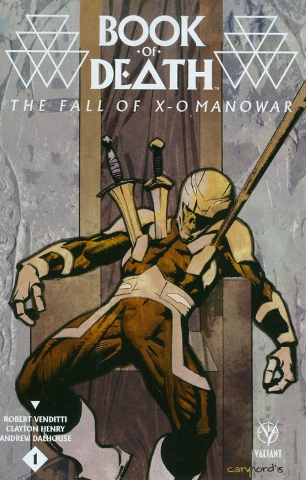 Valiant Entertainment's Book of Death: The Fall of X-O Manowar Issue # 1