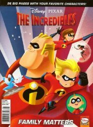 Disney Comics's Disney-Pixar / Muppets Presents: The Incredibles Soft Cover # 4