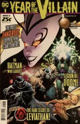 DC Comics's DC's Year of the Villain Issue # 1wades