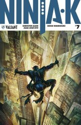 Valiant Entertainment's Ninja-K Issue # 7b