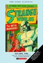 PS Artbooks's Pre-Code Classic: Strange Worlds Hard Cover # 2