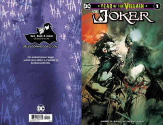DC Comics's Joker: Year of the Villain Issue # 1bell book-a