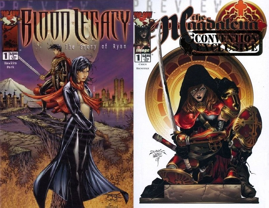 The Magdalena / Blood Legacy: Preview Special Special 1b