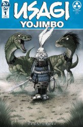 IDW Publishing's Usagi Yojimbo Issue # 1frankies
