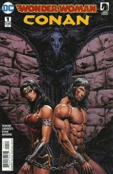 DC Comics's Wonder Woman/Conan Issue # 1b