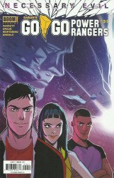 BOOM! Studios's Saban's Go Go Power Rangers Issue # 31