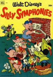Dell Publishing Co.'s Silly Symphonies Issue # 1b