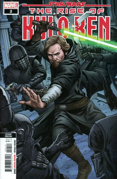 Star Wars Rise Of Kylo Ren Issue 2 2nd Print Marvel Comics