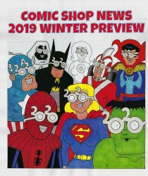 Comic Shop News's Comic Shop News: Previews Issue Winter 2019