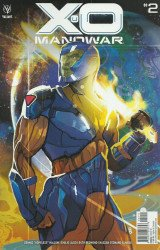 Valiant Entertainment's X-O Manowar Issue # 2