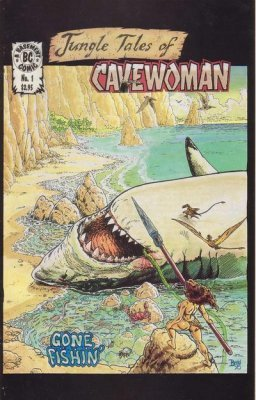 basement amryl entertainment 39 s jungle tales of cavewoman issue 1