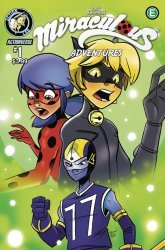 Action Lab Entertainment's Miraculous Adventures Issue # 1