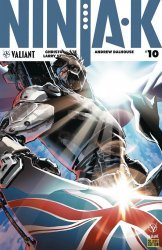 Valiant Entertainment's Ninja-K Issue # 10c