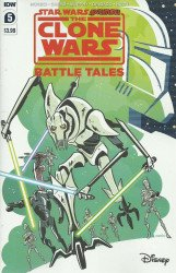 IDW Publishing's Star Wars Adventures: Clone Wars - Battle Tales Issue # 5