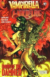 Harris Comics's Vampirella / Witchblade: Union of the Damned Issue # 1