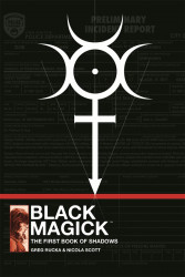 Image Comics's Black Magick Hard Cover # 1