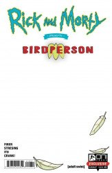 Oni Press's Rick and Morty Presents: Birdperson Issue # 1c