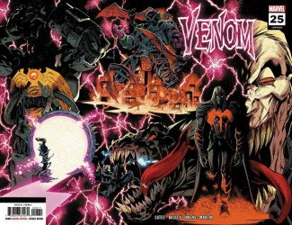 Marvel Comics's Venom Issue # 25-2nd print
