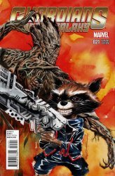 Marvel's Guardians of the Galaxy Issue # 21b