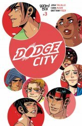 BOOM! Studios's Dodge City Issue # 3