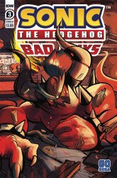 IDW Publishing's Sonic the Hedgehog: Bad Guys Issue # 3b