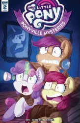 IDW Publishing's My Little Pony: Ponyville Mysteries Issue # 2ri