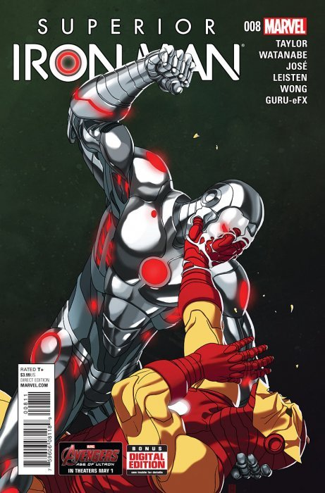 Bleeding Edge Iron Man Vs Thor