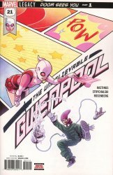 Marvel Comics's The Unbelievable Gwenpool Issue # 21
