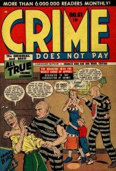 Lev Gleason Publications's Crime Does Not Pay Issue # 61b