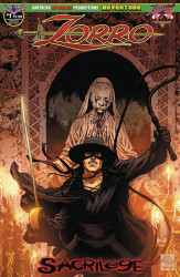 American Mythology's Zorro: Sacrilege Issue # 1b