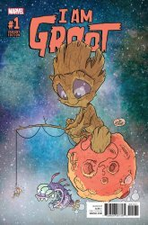 Marvel Comics's I Am Groot Issue # 1c