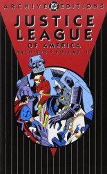 DC Comics's Justice League Archives Hard Cover # 10