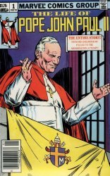 Marvel Comics's The Life of Pope John Paul II Issue # 1b