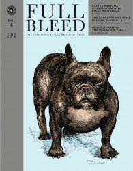 IDW Publishing's Full Bleed: The Comics & Culture Quarterly Hard Cover # 4