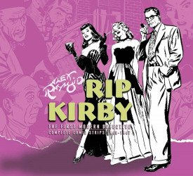 IDW Publishing's Rip Kirby:  The First Modern Detective Hard Cover # 3