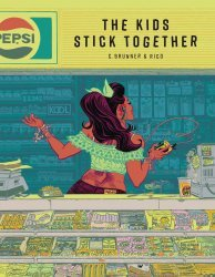 A Wave Blue World's The Kids Stick Together Hard Cover # 1