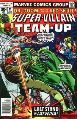 Super-Villain Team Up 3 Marvel 1975