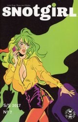 Image Comics's Snotgirl Issue # 7