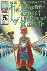 Mock Man Press's HP Lovecraft's: The Dream-Quest of Unknown Kadath Issue # 5