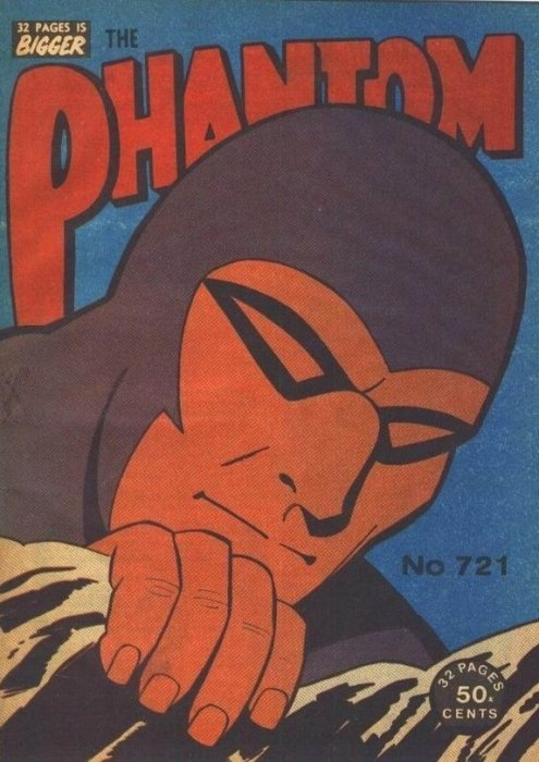 Frew Phantom #706 #707 1981 VG- M16