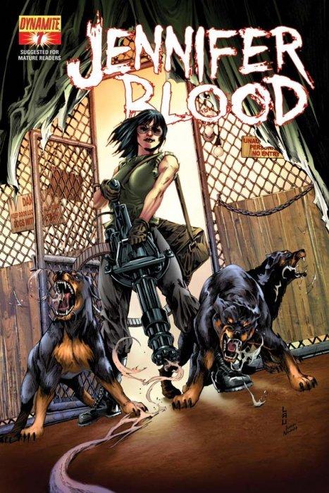 Jennifer Blood #22 Vf Other Modern Age Comics 1st Print Dynamite Comics