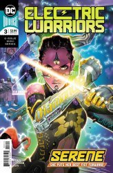 DC Comics's Electric Warriors Issue # 3